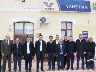 transportation officer sen yerkoy visited tcdd employees