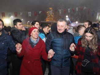 tausende von kartepe winter festival karfest und costu