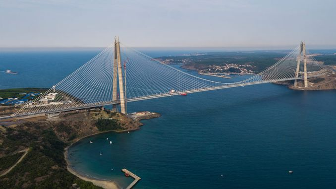 year Yavuz Sultan Selim Bridge