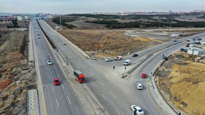 Ankara-Verkehr entspannt sich mit neuen Straßen und Kreuzungen