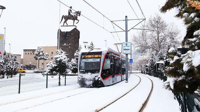 Kayseri Mass Transportation Vehicles Million Passenger Vehicle