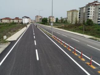 Ordu Büyükşehir Modern Yollar İnşa Etti
