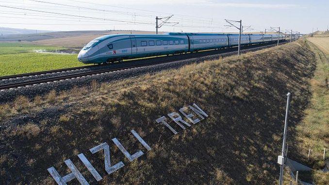अंकारा शिवास हाय-स्पीड ट्रेन प्रकल्प उन्हाळ्याच्या सुरुवातीस पूर्ण झाला