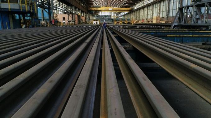 railways developed the world's steel industry
