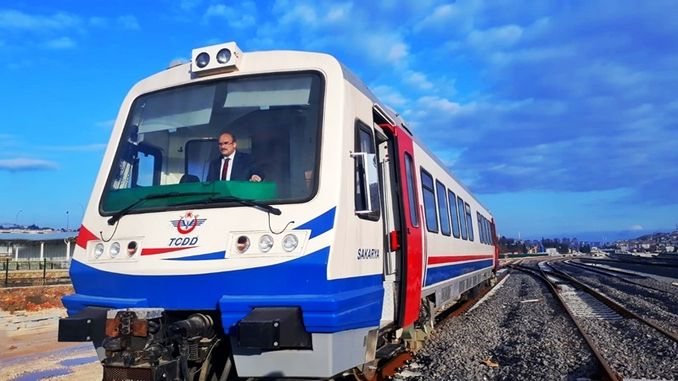 Raybus test drives between Gaziantep faction started