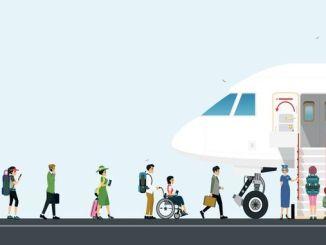l'annu passatu, u numeru di passageri chì utilizanu a cumpagnia aerea aumentò à milioni