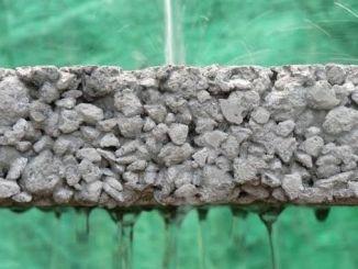 防止渗透性混凝土泛滥