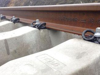 vías de tren de alta velocidade