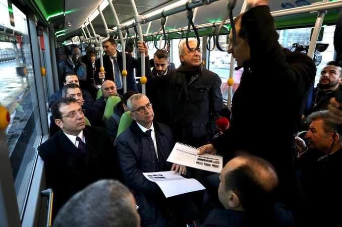 imamoglu asil cozum metro testing the new metrobus tool for the second time