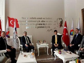 Japanski ambasador posjetio je Privrednu i industrijsku komoru Sivas