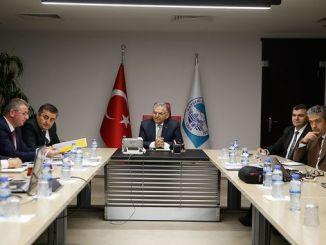 riunione di coordinazione di trasportu hè stata tenuta in kayser