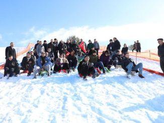 mesudiye snow festival witnessed many events