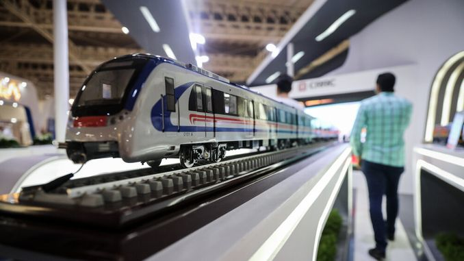 rail industry show is taking place in eskisehir in april