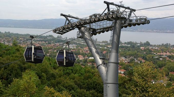 Sapanca cable car project continues from where it left off