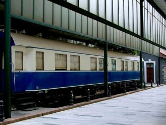 Det hvide tog er vært for Atatürk's erindringer