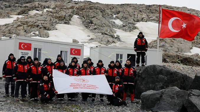 antarctic science committee reached turk ussune