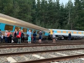 sydney melbourne train in australia gets derailed