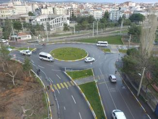 balikesir relieves city traffic with frozen junctions