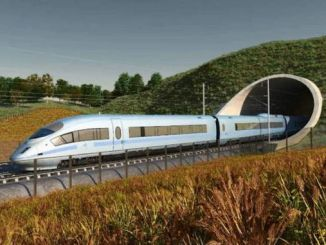 prime minister johnson to support billion-pound high-speed train project