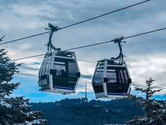Bursa Cable Car Expeditions Stuck to Severe Wind Barrier