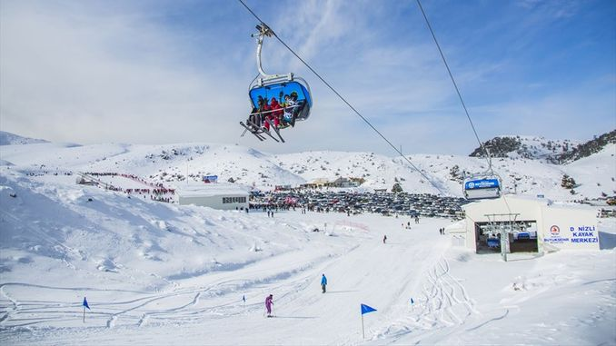 maritime ski center nadagdagan ang interes sa skiing sports