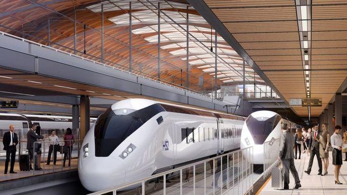 Их Британийн хурдны галт тэрэгний системийг cinli crcc компани хийх болно