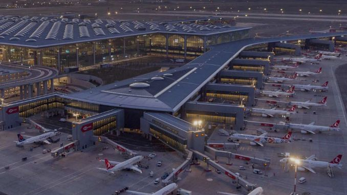 Istanbul airport served million passengers