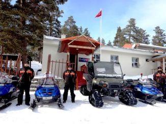 горналыжныя курорты, даручаныя жандармерыйскім пошукава-выратавальным атрадам