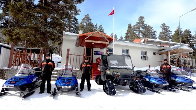 ski resorts entrusted to gendarmerie search and rescue teams