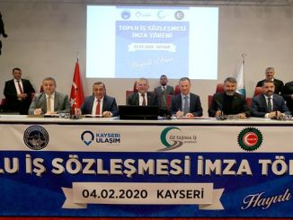 The joy of collective bargaining agreements in Kayseri