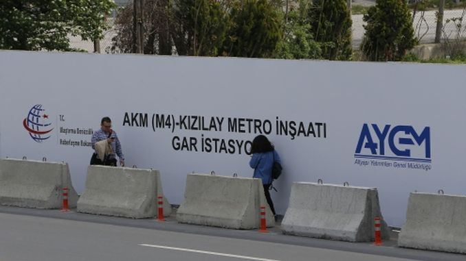 When will the kecioren kizilay subway be put into service?