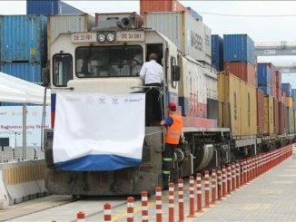 Гуру за товарния транспорт по железопътната линия Кокаели