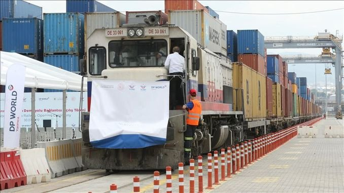 Gurus about the freight transport on the Kocaeli railway