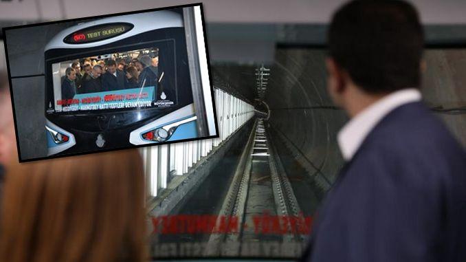 mecidiyekoy mahmutbey δοκιμή μετρό δοκιμή έγινε