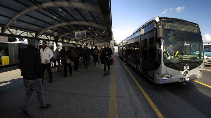 Metrobus-Dienstleistungen wurden erhöht
