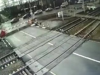 high-speed pedestrian arptiac crash in Russia reflected on cameras