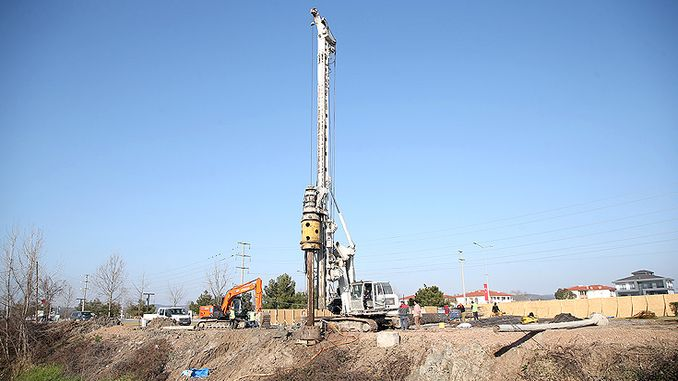 Work has begun for new bridge and double road in Sakarya