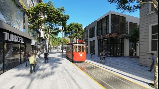 Sakarya Nostalgic Tram Cars come from Bursa