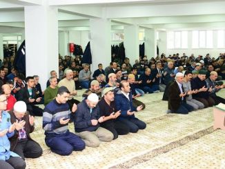 tudemsas staff prayed for idlibte sehit dusen mehmetcik