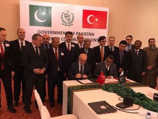 Pakistan railways was signed Memorandum of Understanding with turkey