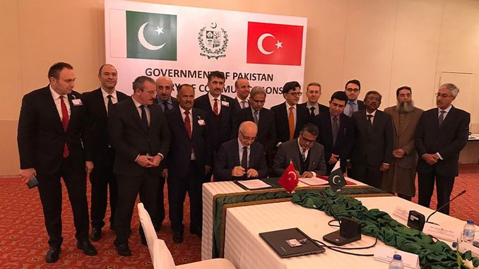 turkiye ile pakistan demiryollari mutabakat zapti imzalandi