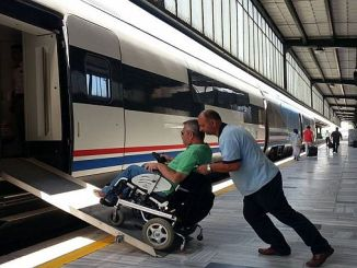 mourning and train tickets stopped for citizens with disabilities