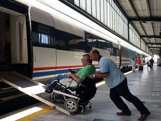 alder og tog billettsalg til handicappede borgere stoppet