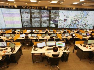 يتداخل مركز تتبع أسطول IETT على الفور مع Yogunlu