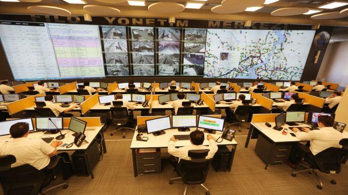 Ang IETT Fleet Tracking Center Nangilabot dayon sa Yogunlu
