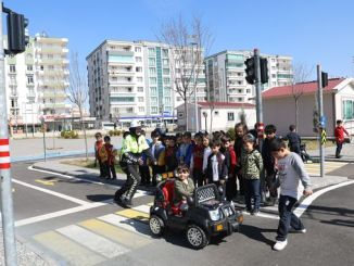 Traffic Education was Provided to Children in the Traffic Education Park