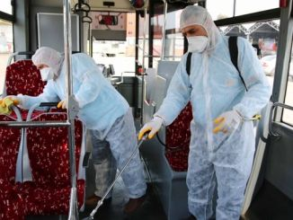 Disinfection Study in Adana Metro and Bus Stations