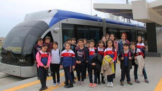tiny visitors of antalya stage rail system