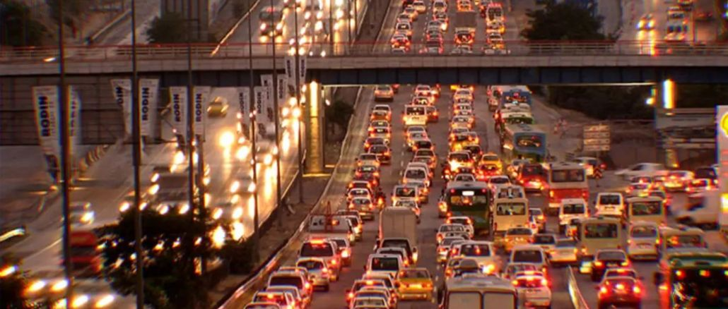 dunyada koronavirus yayiliyor trafik azaliyor