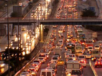 coronavirus spreads in the world, traffic decreases